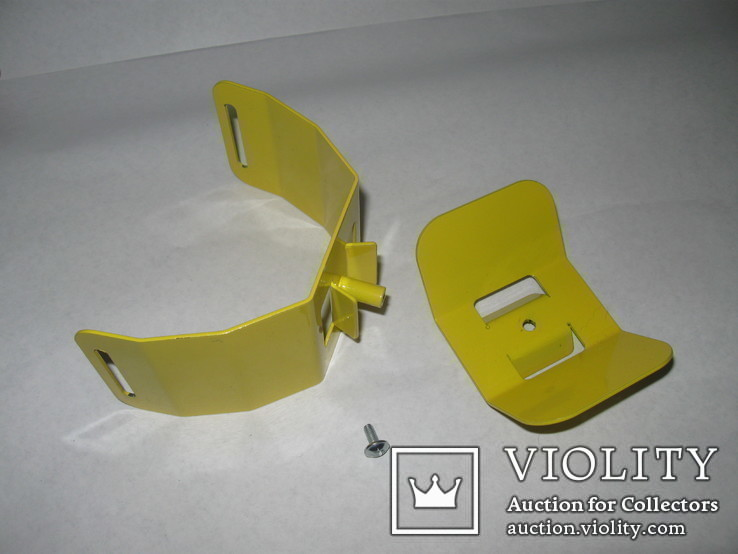 Металлический подлокотник (Garret,X-terra и др.) желтый.Лот номер 2, фото №8