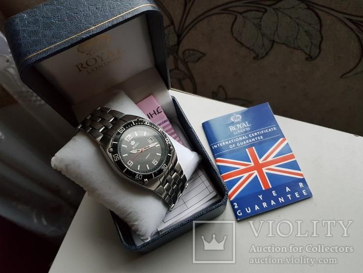 Часы Royal London документы и коробок, фото №2