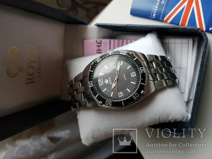 Часы Royal London документы и коробок, фото №3