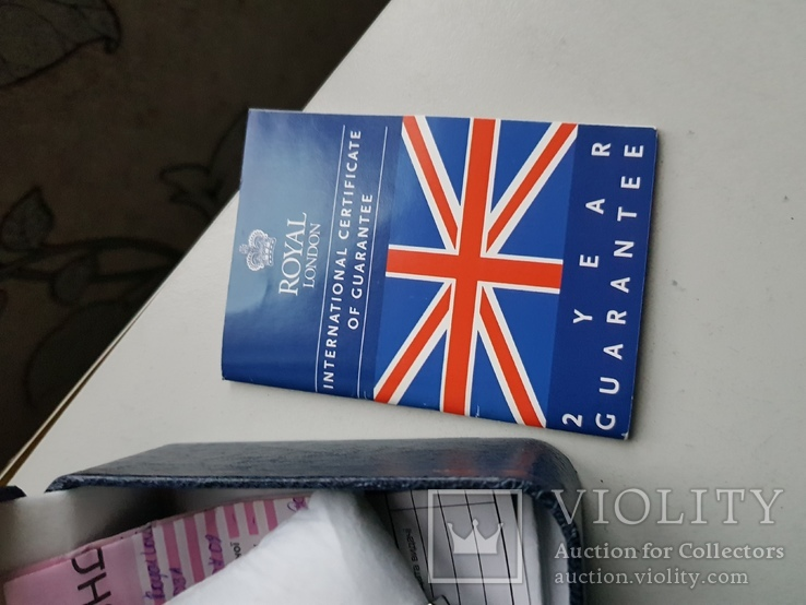 Часы Royal London документы и коробок, фото №6
