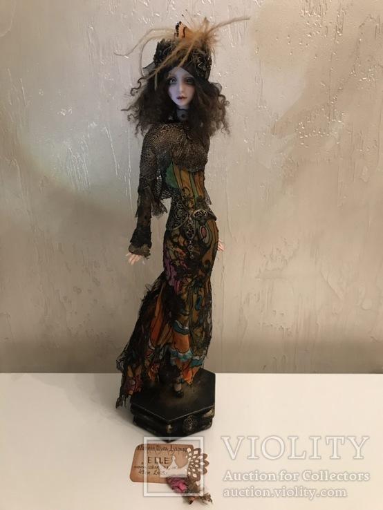 """Коллекционная авторская кукла «BUTTERFLY GIRL"""""""