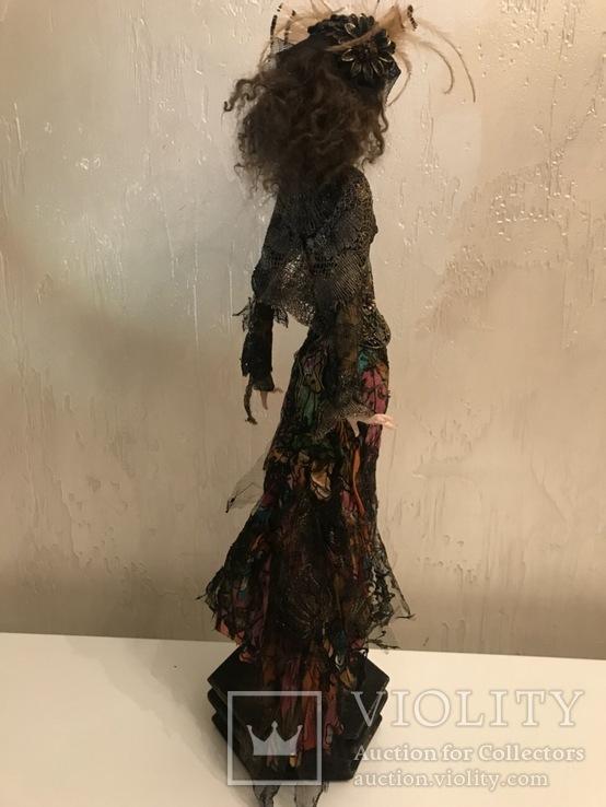 "Коллекционная авторская кукла «BUTTERFLY GIRL"", фото №4"