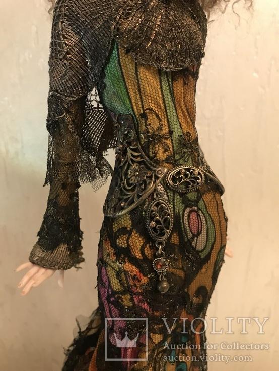 "Коллекционная авторская кукла «BUTTERFLY GIRL"", фото №5"