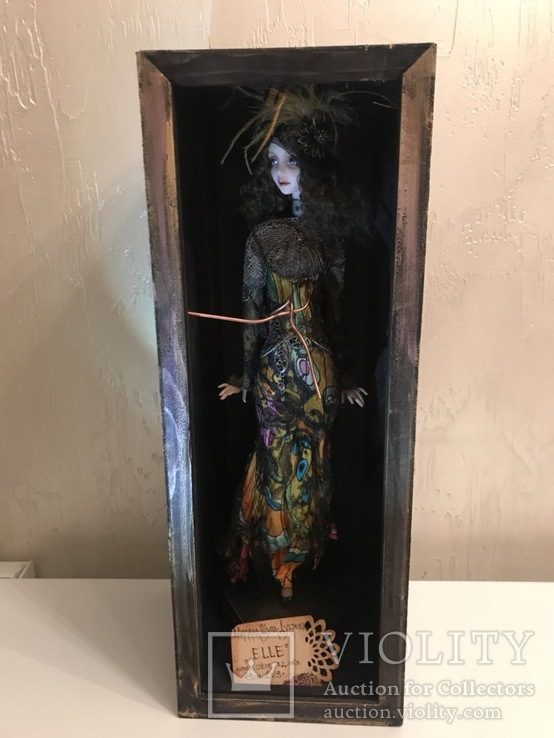 "Коллекционная авторская кукла «BUTTERFLY GIRL"", фото №6"