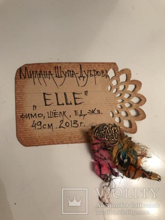 "Коллекционная авторская кукла «BUTTERFLY GIRL"", фото №7"