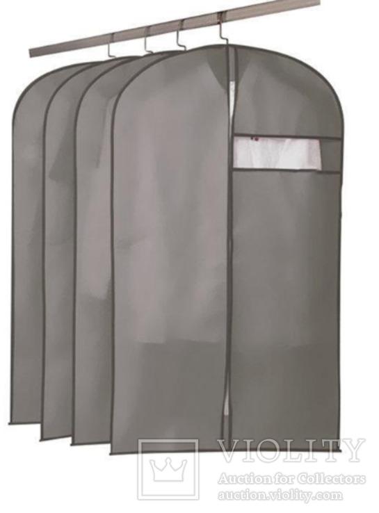 Чехол для одежды на молнии 60Х102.