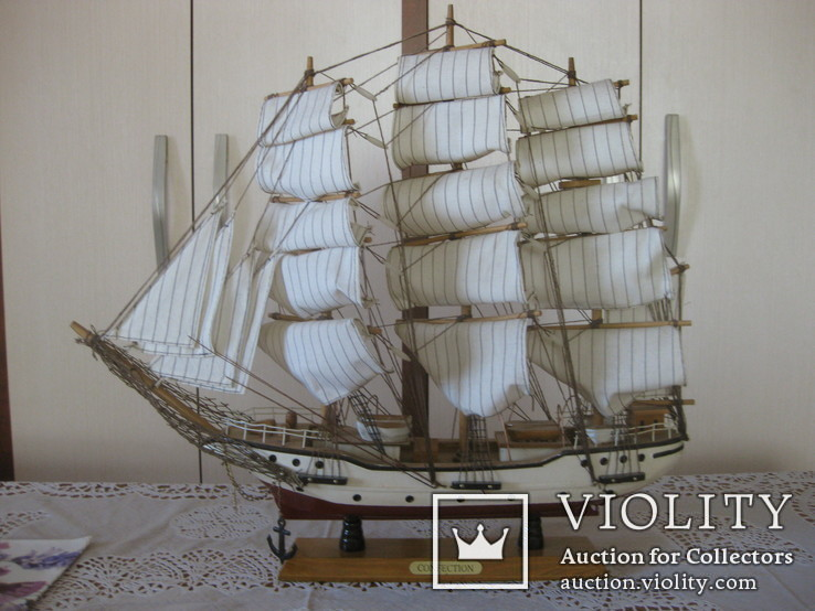 Парусник в коллекцию (44*48 см.)+ бонус, фото №2