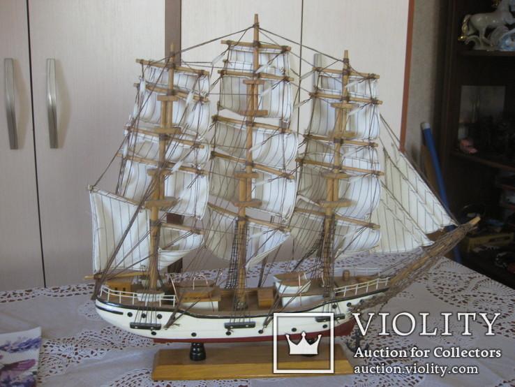 Парусник в коллекцию (44*48 см.)+ бонус, фото №3