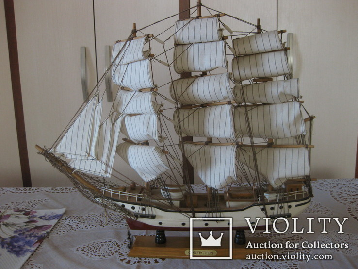 Парусник в коллекцию (44*48 см.)+ бонус, фото №10