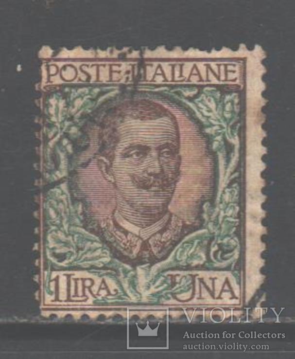 Италия. 1901. Виктор Эммануил III, 1 л., гаш.