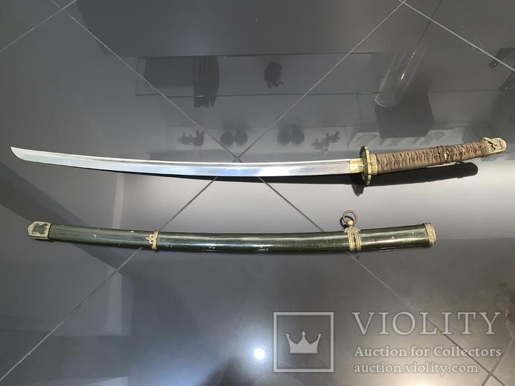Японский меч Син-гунто армейских офицеров