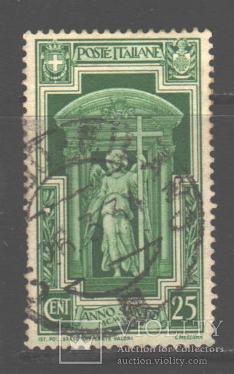 Италия. 1933. Ангел, 25 ч., гаш.