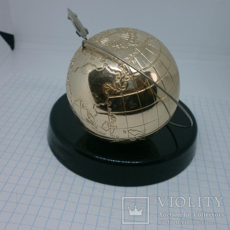 Настольный сувенир Космос. СССР сентябрь 1959. Запуск Луна-2, фото №5