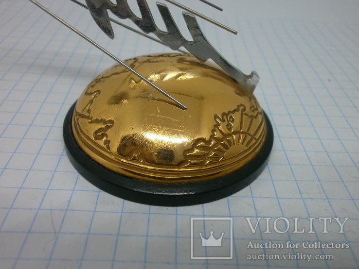 Настольный сувенир Космос. 1957 запуск первого иск спутника Земли Спутник-1, фото №6