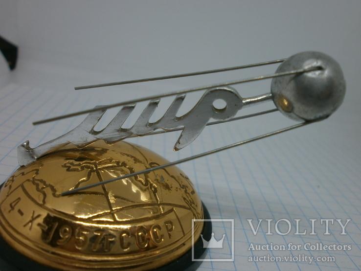Настольный сувенир Космос. 1957 запуск первого иск спутника Земли Спутник-1, фото №8
