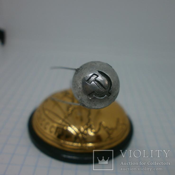Настольный сувенир Космос. 1957 запуск первого иск спутника Земли Спутник-1, фото №9