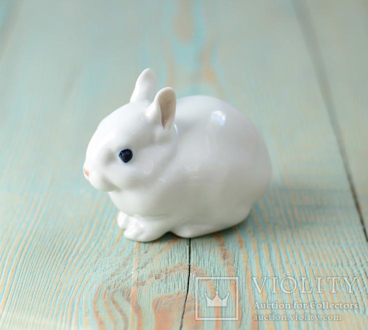 Статуэтка из фарфора Кролик Зайчик Royal Copenhagen, фото №2