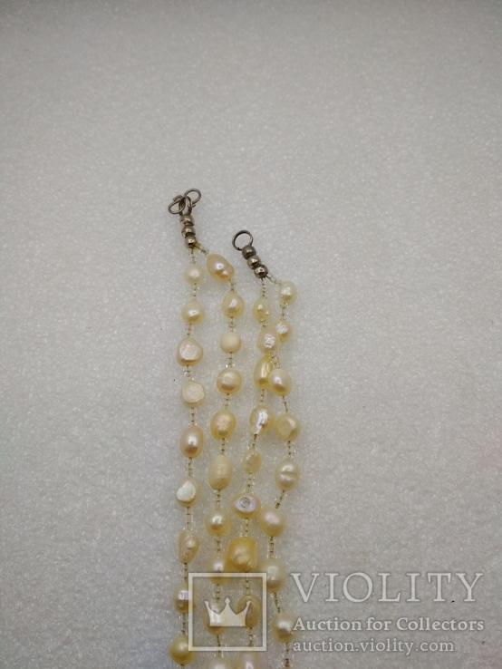 Ожерелье бусы жемчуг, фото №5