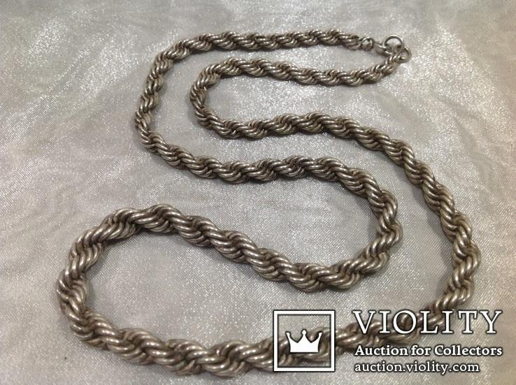 Цепочка из серебра, проба 875*., фото №3