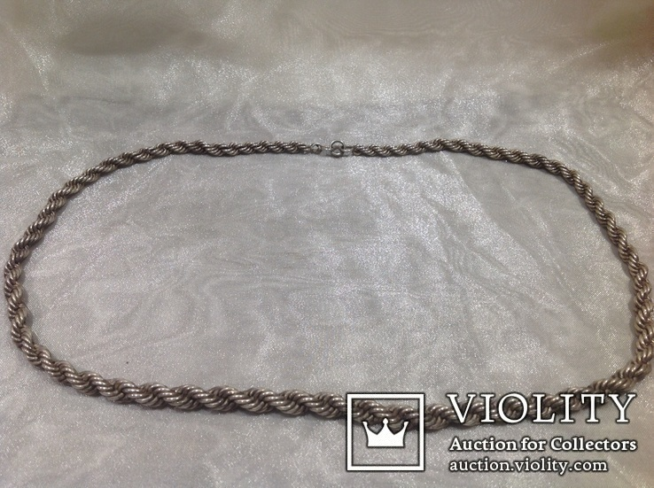 Цепочка из серебра, проба 875*., фото №4