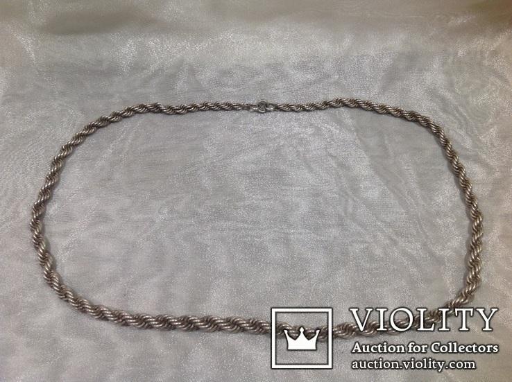 Цепочка из серебра, проба 875*., фото №6