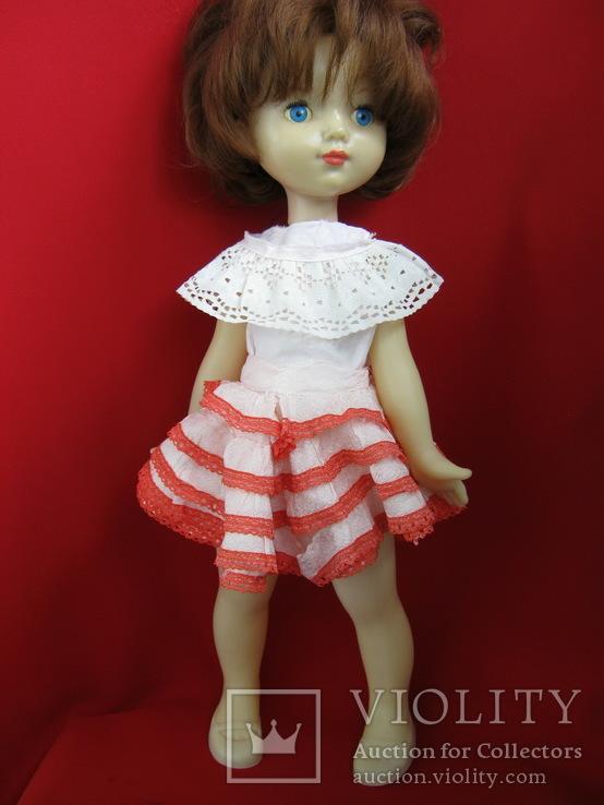 """Кукла ,Ленигрушка. Клеймо """"Мишка"""".50 см."""