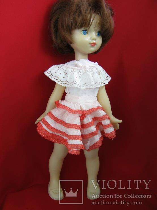 """Кукла ,Ленигрушка. Клеймо """"Мишка"""".50 см., фото №13"""