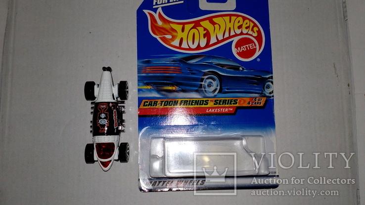 Машинка Хот Вилс Hot Wheels №9 интересная, фото №5