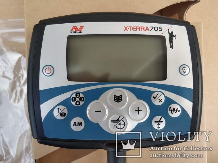 """Minelab X-Terra 705 (гарантія) + Coiltek 15"""" 7.5, фото №6"""