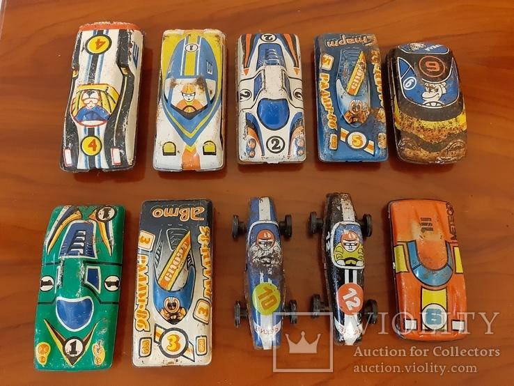 Гоночные машинки ссср игрушки, фото №2