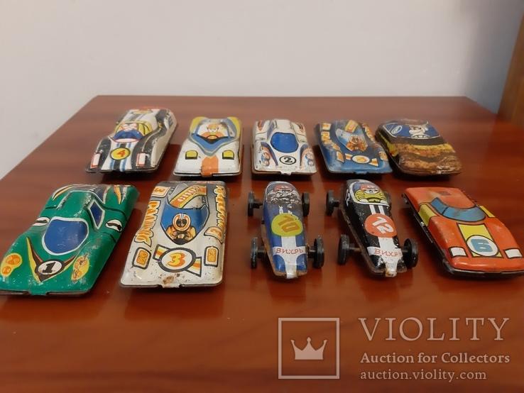 Гоночные машинки ссср игрушки, фото №3
