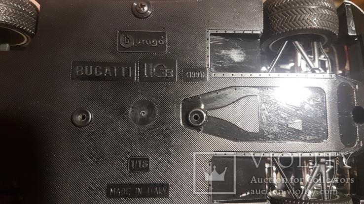 Машина Bugatti 1991. Италия, фото №4