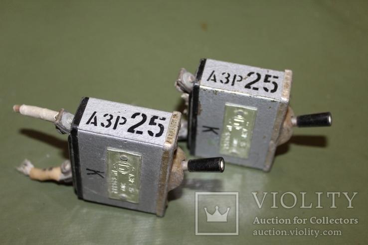 АЗР-25 (автомат защиты сети) 2 шт., Лот №190447, фото №2
