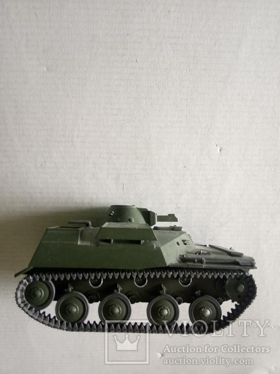 Модель танка Т-40   1/35, фото №6