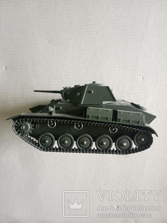 Модель танка Т-70   1/35, фото №7