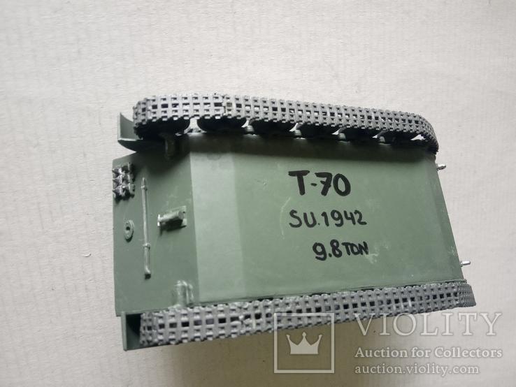 Модель танка Т-70   1/35, фото №9