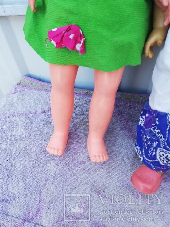 Две Куклы высота 47 см, фото №6