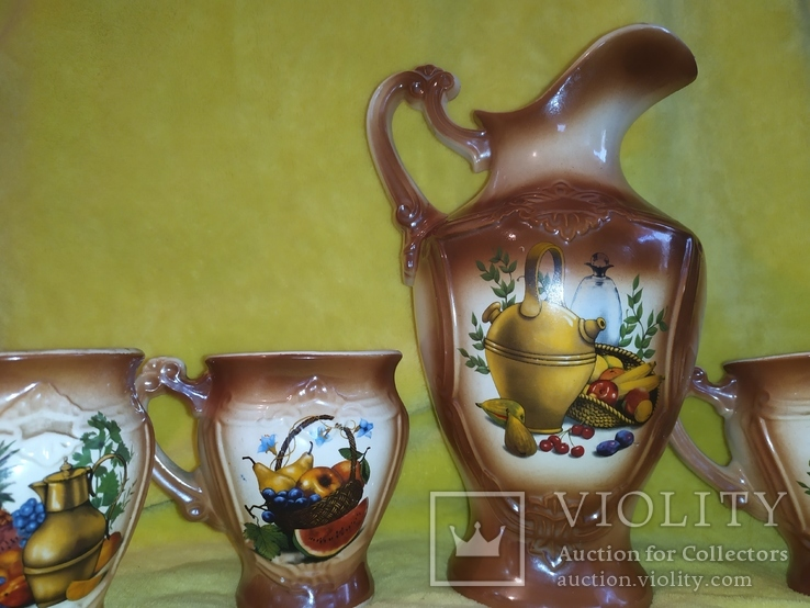 Кувшин с чашечками СССР, фото №5