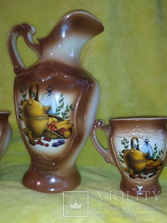 Кувшин с чашечками СССР, фото №7