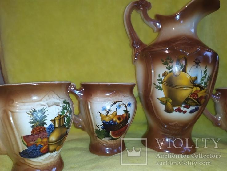Кувшин с чашечками СССР, фото №8