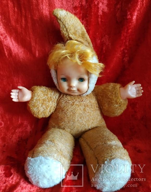 Кукла времён СССР. Рост 45 см.