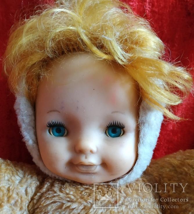 Кукла времён СССР. Рост 45 см., фото №3
