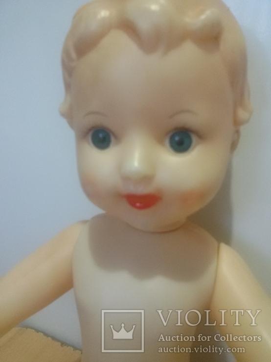 Кукла с рельефными волосами целлулоид, фото №2
