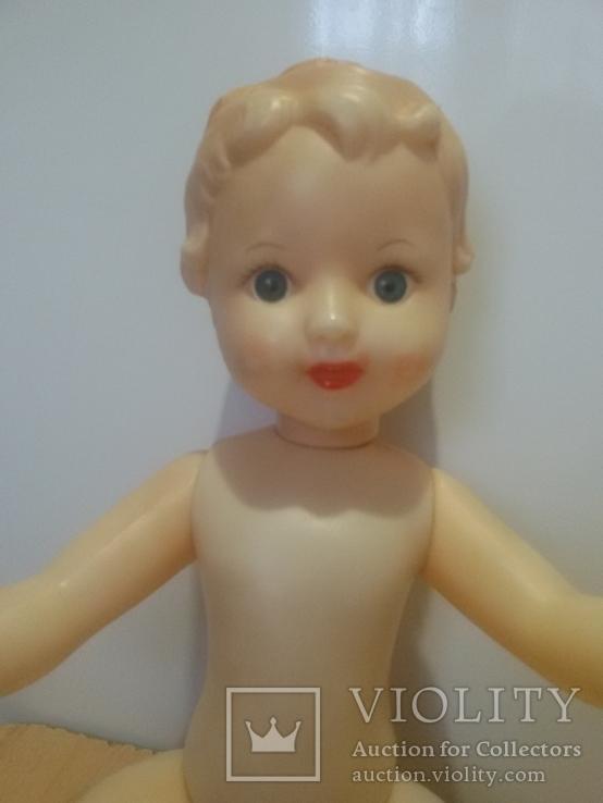 Кукла с рельефными волосами целлулоид, фото №4