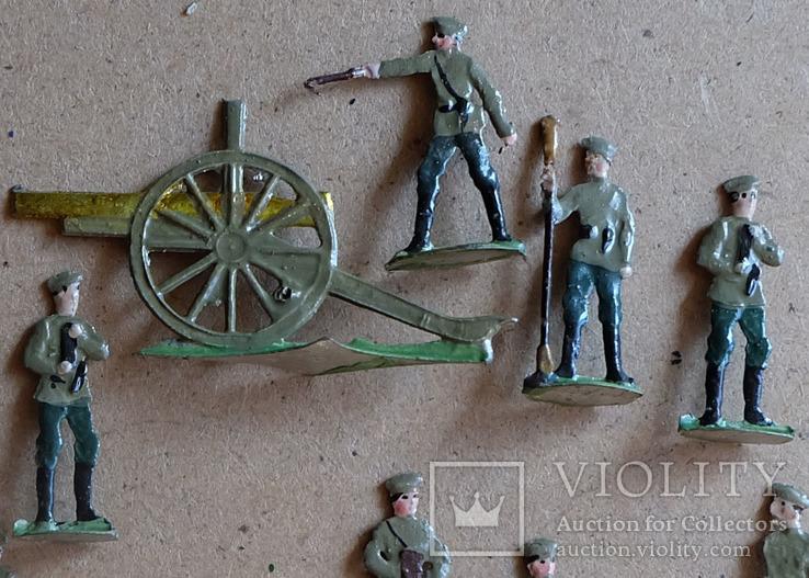 Солдатики оловянные - Германия -  РИА - артиллерия 1., фото №3