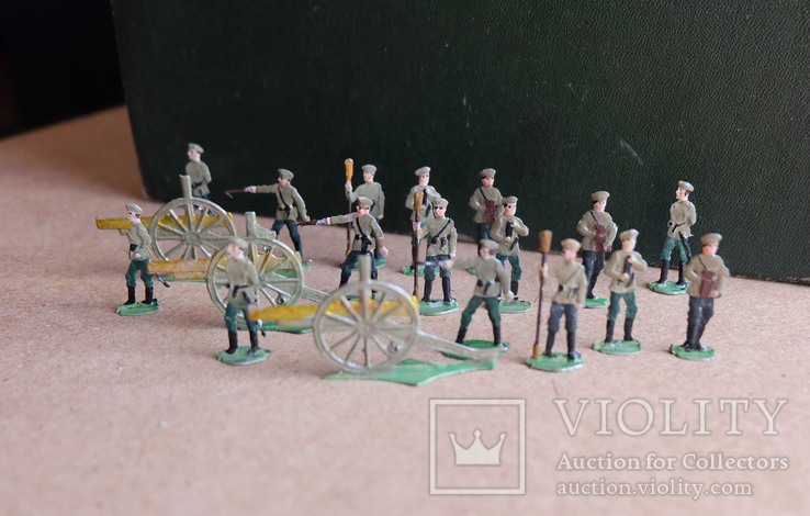 Солдатики оловянные - Германия -  РИА - артиллерия 1., фото №5