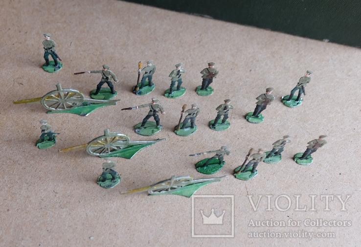 Солдатики оловянные - Германия -  РИА - артиллерия 1., фото №6