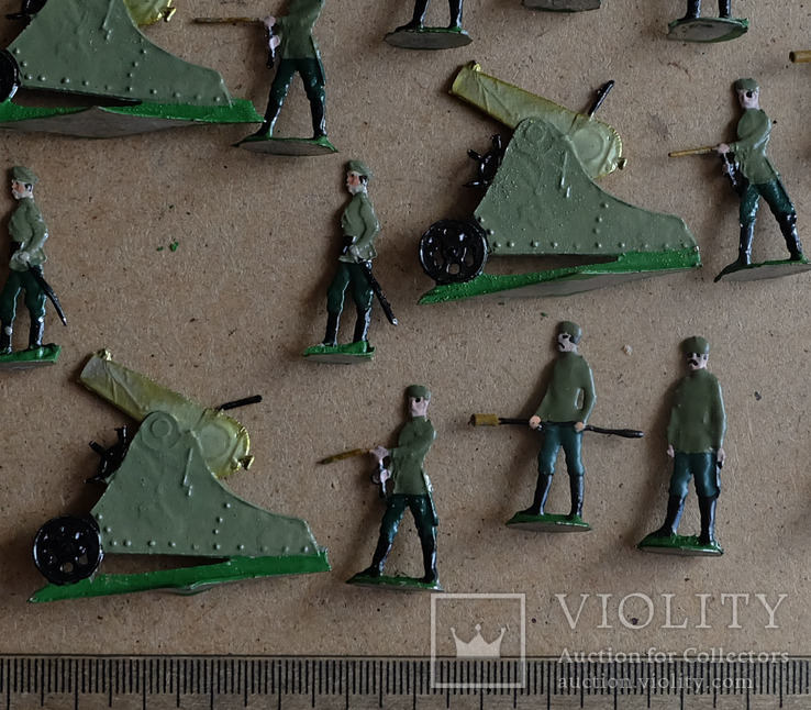 Солдатики оловянные - Германия - РИА - артиллерия 2., фото №3