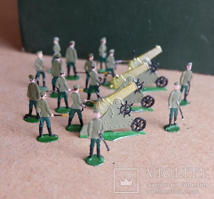Солдатики оловянные - Германия - РИА - артиллерия 2., фото №4