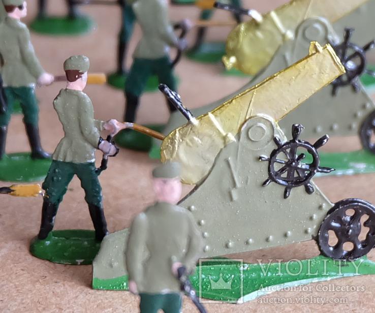 Солдатики оловянные - Германия - РИА - артиллерия 2., фото №5